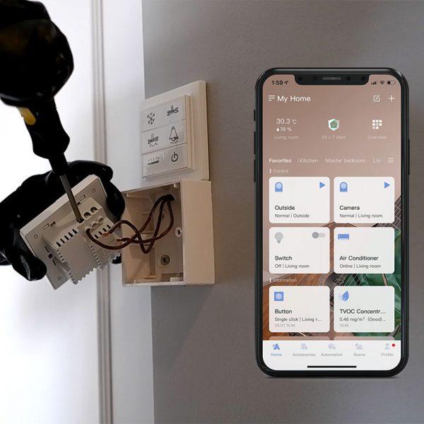 Switch Installation and Aqara App Setup